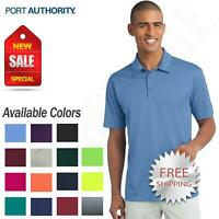 Port Authority Mens Dri-Fit SIlk touch Performance Polo Golf Shirt M-K540