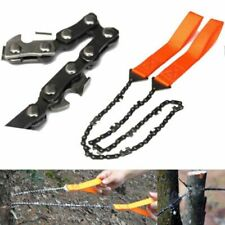 Emergency Household Gardening Hand Chain Saw With Nylon Bag Outdoor Survival New