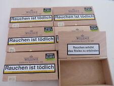 Cigarillo/Zigarrenschachtel-Zigarrenkiste-Wilhelm II- aus Holz leer