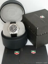 Tag Heuer Aquaracer WK1110-1 Unisex Mens Diver Wrist Watch w Box Papers