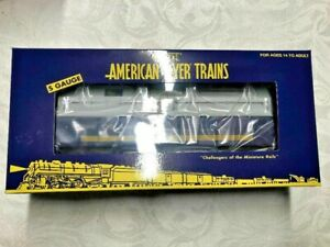 American Flyer by LTI #10919072 Chesapeake and Ohio Gondola with Coil Cover!