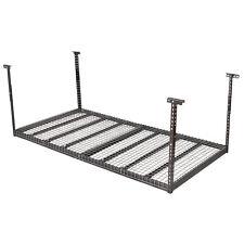 Overhead Garage Ceiling Storage 4'x8' Heavy Duty  Height Adjustable Hanging Rack
