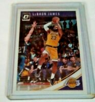 LeBron James 2018-19 Donruss Optic #94 Los Angeles Lakers