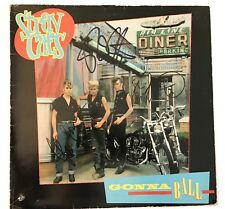 Stray Cats signed album gonna ball lp group autographed brian setzer rockabilly