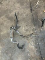 Chrysler 300C 3.0 Crd V6 Metal Pipe Bottom Engine Water Coolant Hoses Fitting