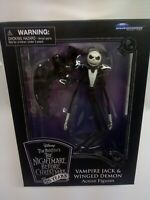 DISNEY TIM BURTON'S THE NIGHTMARE BEFORE CHRISTMAS VAMPIRE JACK & WINGED DEMON