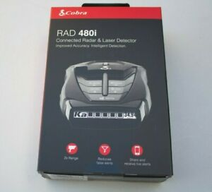 Cobra Rad 480i Radar/Laser Detector NEW Sealed
