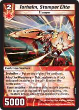 Kaijudo X1 TORHELM, STOMPER ELITE Rare #116/160 13GAU (Playset) Quest Gauntlet