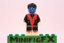 Lego NIGHTCRAWLER Custom Machine Printed Minifig Marvel X-Men Mutant Kurt Wagner