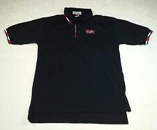 Men's Size S Small Regal Boats Ad Advertising Polo Shirts Size S Small Black Top
