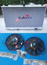 Aluminum Radiator&FANS FOR HONDA ACCORD SIR/SIRT CF4 MT 98-02 99 00 01 2002 2001