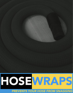 Festool/Mirka Extraction HoseWrap Cover *Black