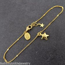 Star Bracelet - 24k Gold Plated Brass - Made of Star Stuff Card Carl Sagan New