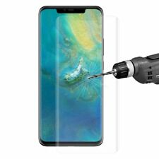 Für Huawei Mate 20 Pro 4D 0,3 mm H9 Full Curved Display Hart Glas Transparent