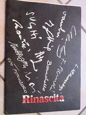 RINASCITA Dodici pittori italiani 1986 Farulli Ciai Gianquinto Mulas Trubbiani