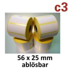56x25mm Thermo-etiquetas despegables Epson tm-l60 l90 etiquetas cebra