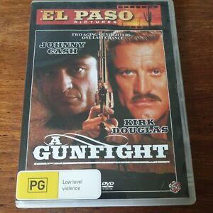 A Gunfight DVD  Like New! FREE POST