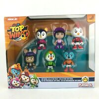 """Top Wing 6 Character Collection Pack Nick Jr 3"""" Figures New in Box Childrens Toy"""