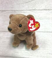 Pecan Bear 5th Generation 1999 Retired Ty Beanie Baby Collectible Gifts Mint