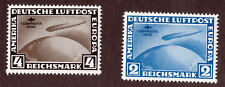 Germany Zeppelin 38 39 MNH  OG Private Reprints
