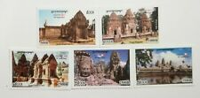 Cambodia Khmer 2002 Stamp ASEANPOST 10th Anniversary collection 5V