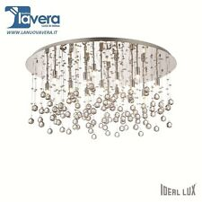 Ideal Lux Lampada da soffitto Moonlight Pl15 cromo (plafoniera) codice 077819