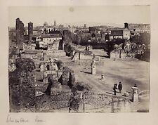 Rome Roma Palais des Césars Italie Italia Vintage albumine ca 1870