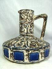 "70´s Ilse Stephan design Schlossberg Keramik "" Capri "" Fat Lava vase 280 -15"