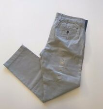 NWT Tommy Hilfiger Men's Chino Casual Tailored Fit Pants Gray, Sz 38x30