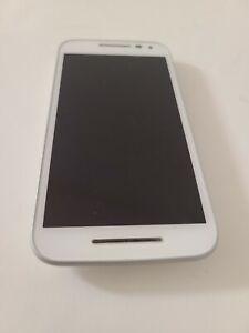 Motorola XT1548 Moto G - 3rd Generation (US Cellular) - White 4G LTE Smartphone