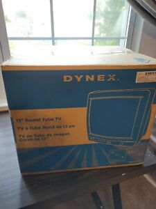 Dynex DX-R13TV 13 Inch CRT TV A/V Inputs Retro Gaming with remote BRAND NEW seal