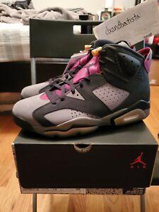 *SHIP NOW* New Nike Air Jordan 6 Bordeaux Size 10 CT8529-063 Dark Grey