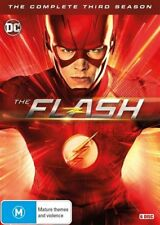 The Flash: Season 3 (DVD, 2017, 6-Disc Set, Box Set), NEW SEALED REGION 4