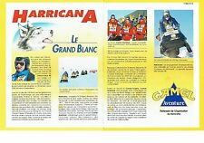 PUBLICITE ADVERTISING 017  1990  Camel  Aventure (2p) Harricana grand blanc