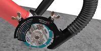 Absaughaube Staubabsaugung Air Duster Winkelschleifer Staubfrei 115 mm MECHANIC