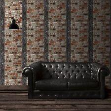 Muriva Attico Mattone Con Fascio Multi Muro Di Pietra Lusso Carta Da Parati