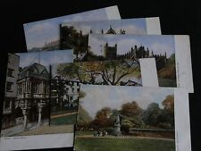 SET OF SIX TUCK POSTCARDS - EXETER - OILETTE No. 787.