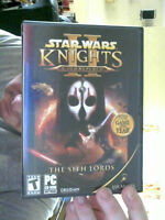 STAR WARS KNIGHTS OF THE OLD REPUBLIC THE SITH LORDS 4 PC CDS PERFECT XMAS GIFT