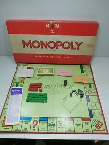 VINTAGE 1972 MONOPOLY BOARD GAME BY WADDINGTONS