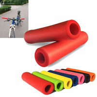 1 Pair Silicone Anti-slip Bike Foam Grip MTB Bike Handlebar Grip Slip-Proof US