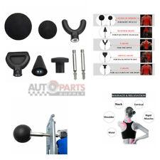 Percussion Massage 8pcs Tip Bit For Jigsaw Massager Adapter Attachment Kit Set A