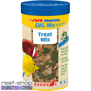sera Marine GVG-Mix Nature 250mL Treat Mix for Saltwater and Reef Fishes