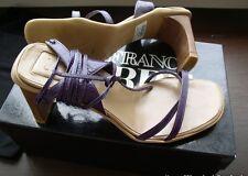 $290 Original NIB Gianfranco Ferre Women's Lilac Shoes Size 37 EU 7 US Italy