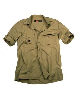 Kakadu Traders Outdoor   Safari Herrenhemd Concord mit Roll Up Ärmeln, 2. Wahl