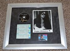 YNGWIE MALMSTEEN - SIGNED War to End All Wars CD & photocard MATTED & FRAMED