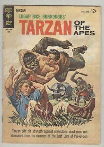 Tarzan of the Apes #142 June 1964 VG- The Dreadful Swamp