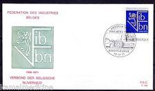 FIB VBN Federation of Belgian Industries, Belgium 1971 FDC (I1 )