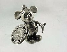 Vintage Sterling Silver With Walt Disney Productions Tag MICKEY MOUSE Charm