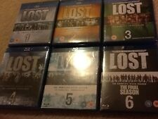 New Authentic & Sealed,  Lost: The Complete Series Seasons 1 2 3 4 5 6 Blu Ray