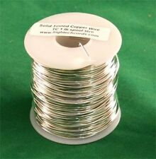 1 lb. 20g Gauge Tinned Wire for Stained Glass Projects